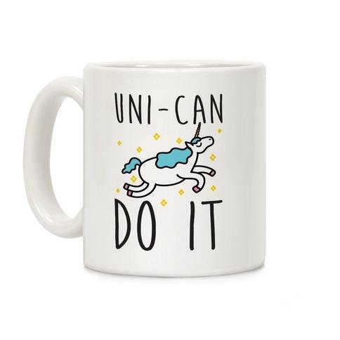 Uni-can Do It Unicorn Coffee Mug