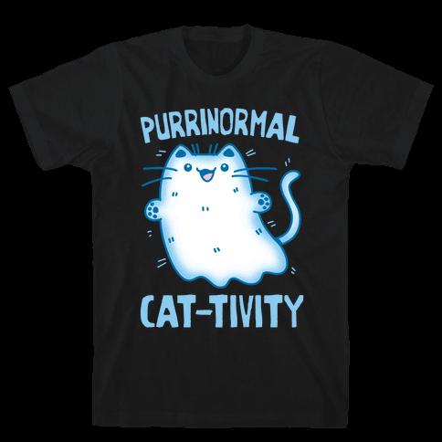Purrinormal Cat-tivity Mens/Unisex T-Shirt