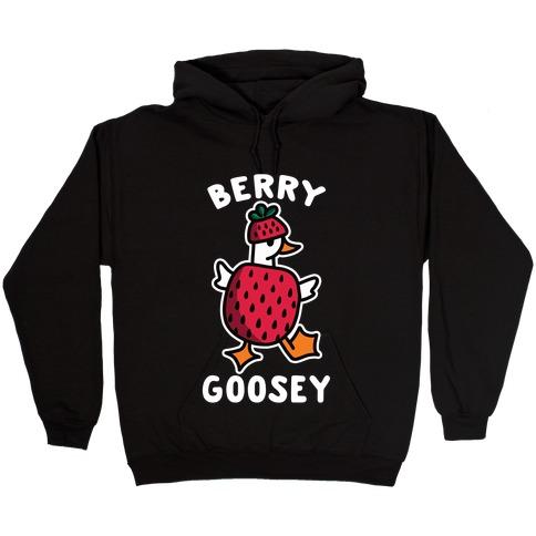 Berry Goosey Hooded Sweatshirt
