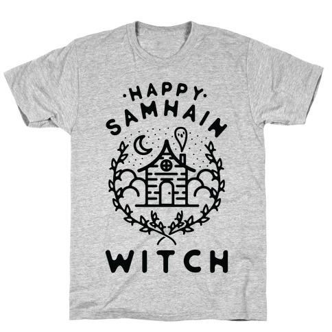 Happy Samhain Witch T-Shirt