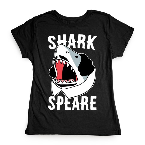 William Shark-speare Womens T-Shirt