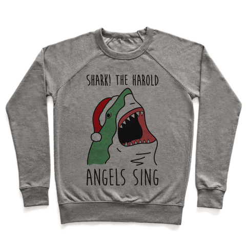 Shark! The Harold Angels Sing Pullover