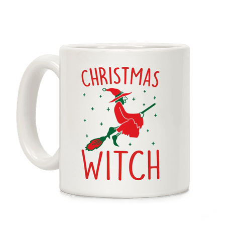 Christmas Witch Coffee Mug