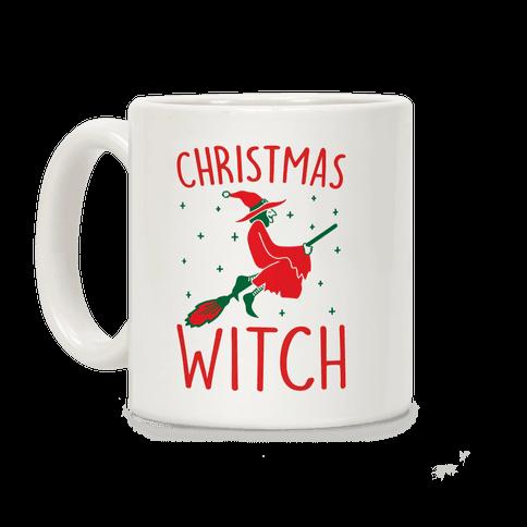 Christmas Witch Coffee Mug