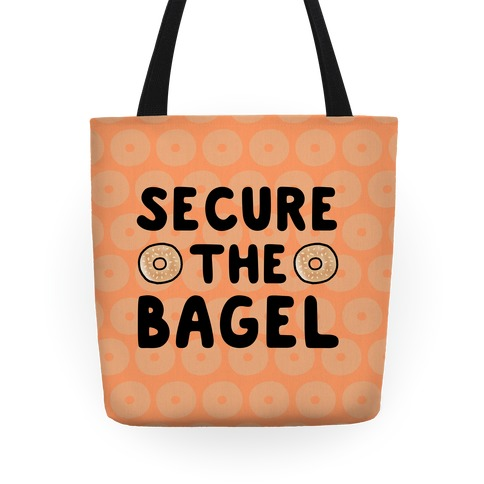 Secure the Bagel Tote