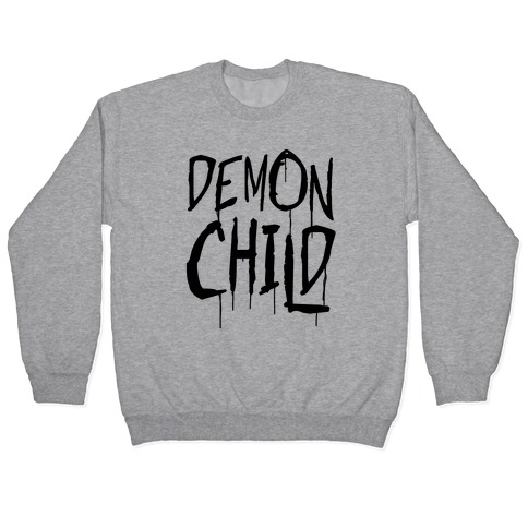 Demon child Pullover