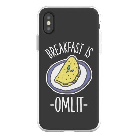 Breakfast is Omlit Phone Flexi-Case