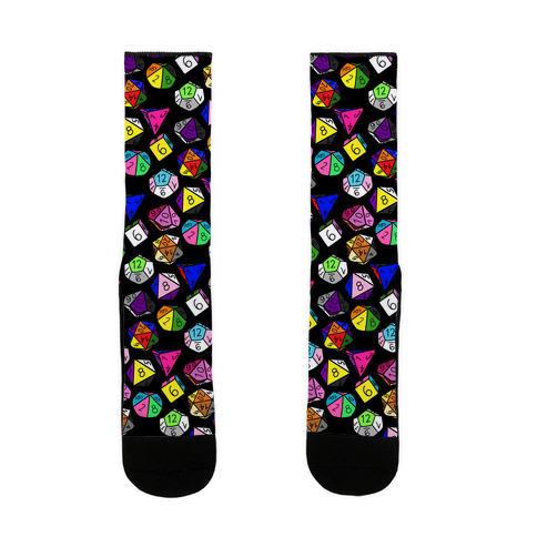 LGBTQ+ Pride Dice Sock
