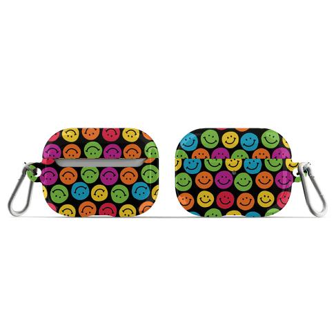 Smiley Sticker Pattern AirPod Case