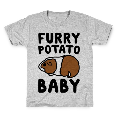 970538234 Furry Potato Baby Guinea Pig Parody T-Shirt   LookHUMAN