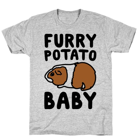 Furry Potato Baby Guinea Pig Parody T-Shirt
