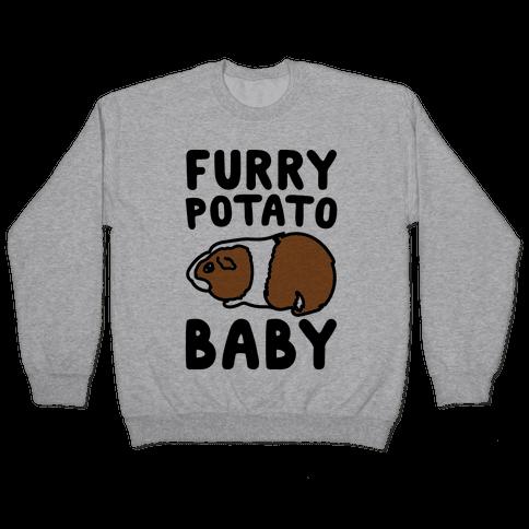Furry Potato Baby Guinea Pig Parody Pullover