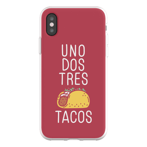 Uno Dos Tres Tacos Phone Flexi-Case