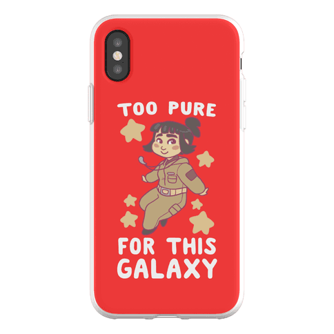 Too Pure For This Galaxy - Rose Tico Phone Flexi-Case