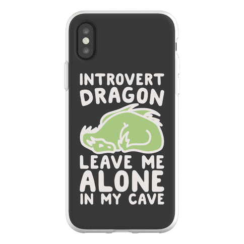 Introvert Dragon Phone Flexi-Case