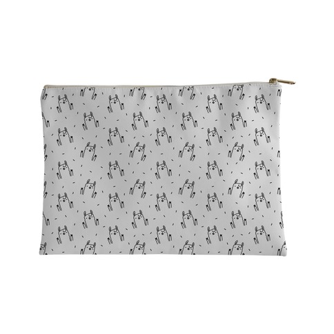 Sassy Llama Pattern Accessory Bag