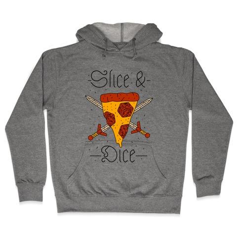 Slice & Dice  Hooded Sweatshirt