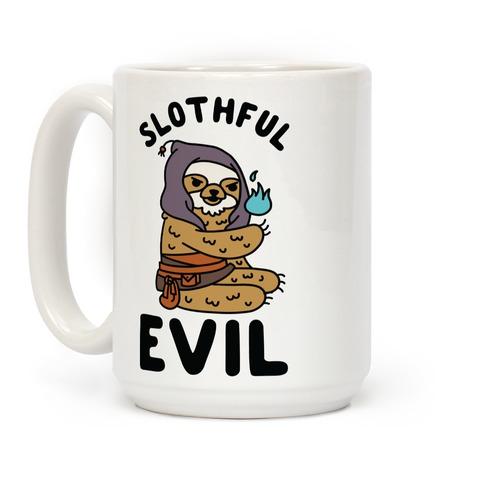 Slothful Evil Coffee Mug