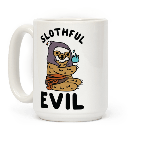 Slothful Evil Coffee Mug