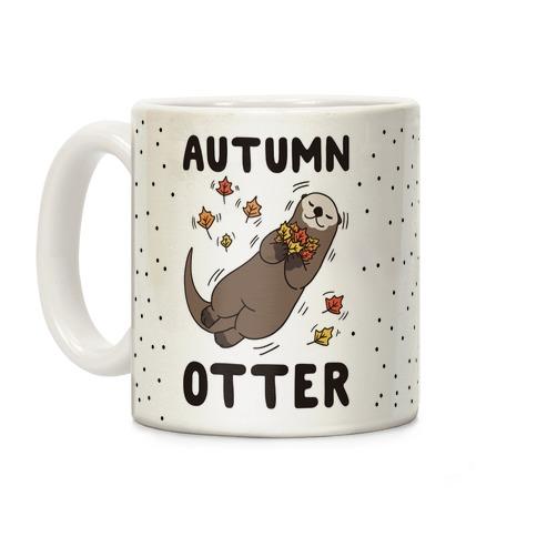 Autumn Otter Coffee Mug
