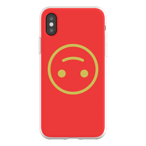 Upside-down Smiley Phone Flexi-Case