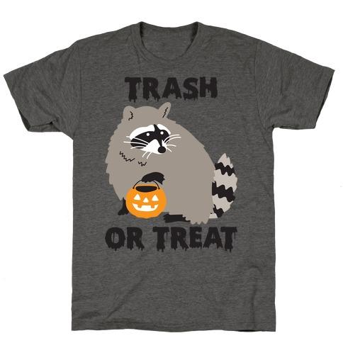 Trash Or Treat Raccoon T-Shirt