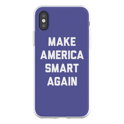 Make America Smart Again Phone Flexi-Case