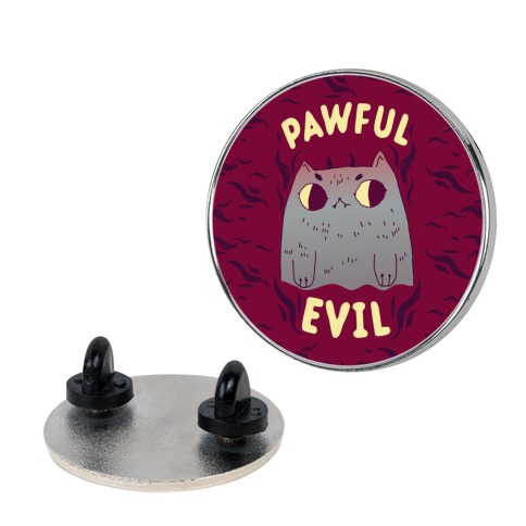 Pawful Evil Pin
