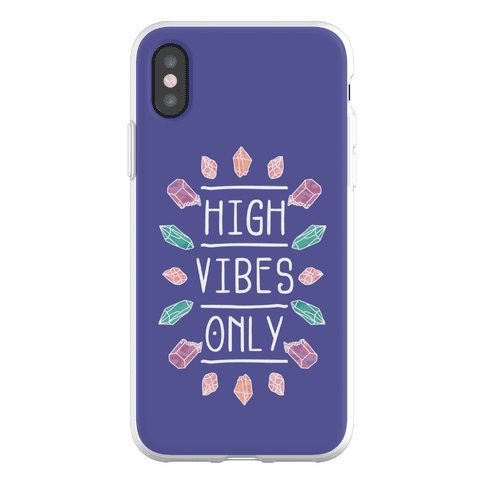 High Vibes Only Phone Flexi-Case