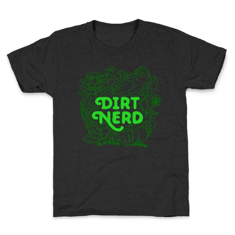 Dirt Nerd Kids T-Shirt