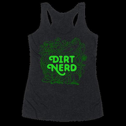 Dirt Nerd Racerback Tank Top