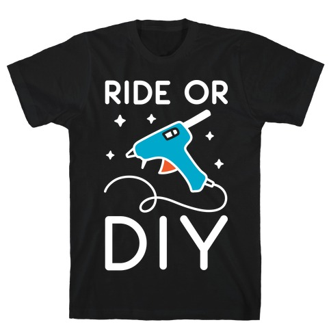 Ride Or DIY Pair 2/2 T-Shirt