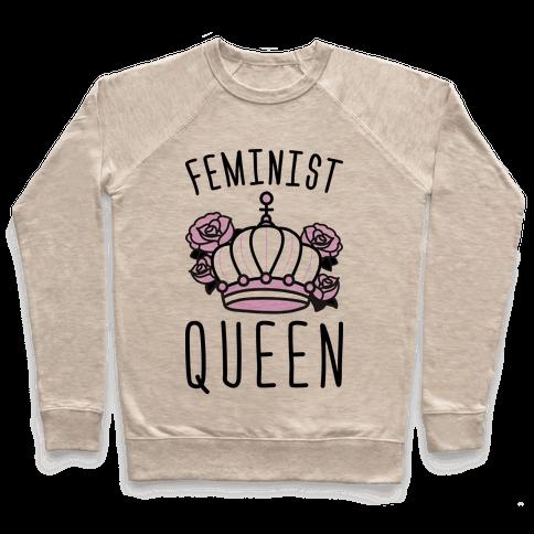 Feminist Queen Pullover