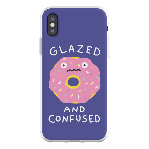 Glazed And Confused Phone Flexi-Case