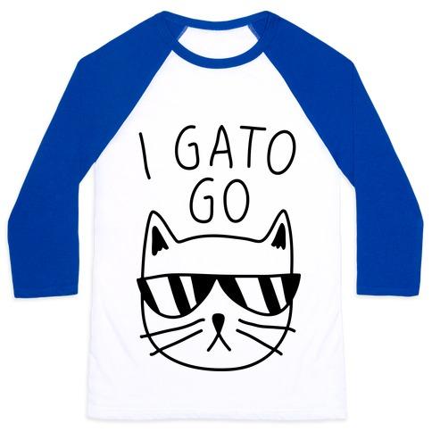 I Gato Go Baseball Tee