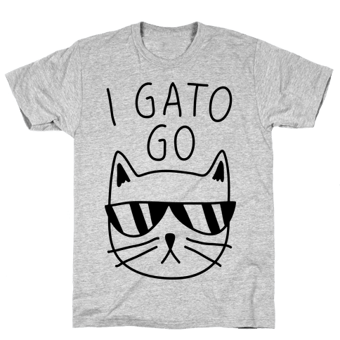 I Gato Go Mens T-Shirt