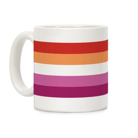 Lesbian Pride Flag Coffee Mug