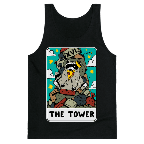 The Garbage Tower Tarot Tank Top