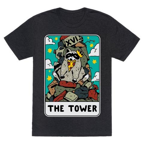 The Garbage Tower Tarot T-Shirt