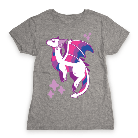 Bi Pride Dragon Womens T-Shirt