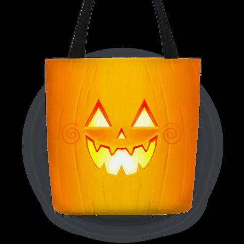 Jack-o-lantern Tote