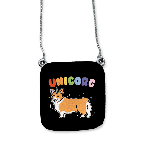 Unicorg Parody necklace