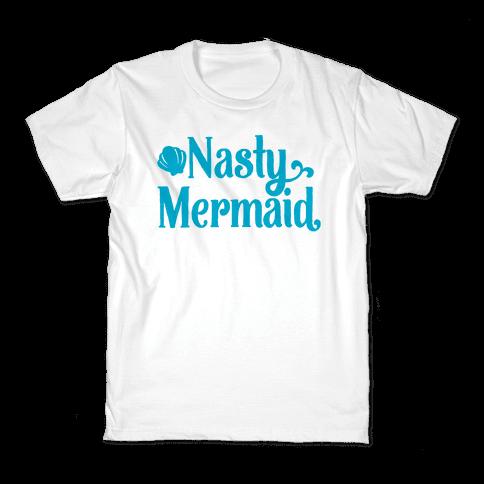 Nasty Woman Mermaid Parody Kids T-Shirt