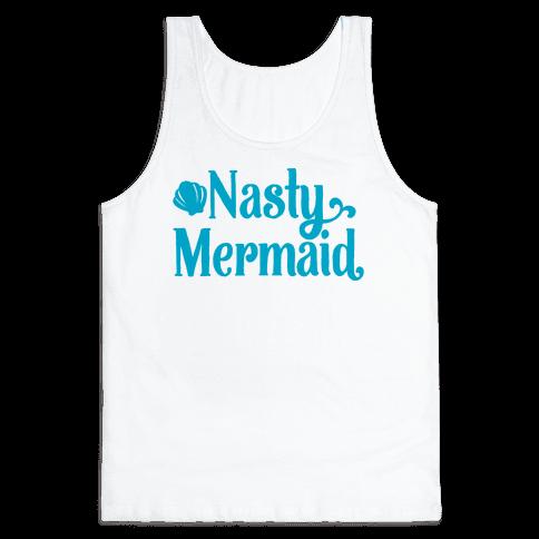 Nasty Woman Mermaid Parody Tank Top