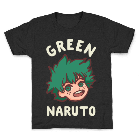 Green Naruto Kids T-Shirt