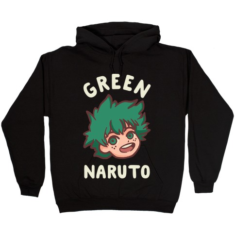 Green Naruto  Hooded Sweatshirt