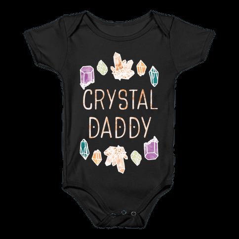 Crystal Daddy Baby Onesy