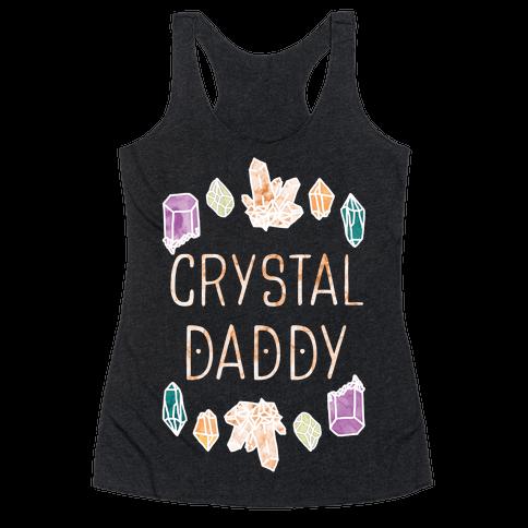 Crystal Daddy Racerback Tank Top