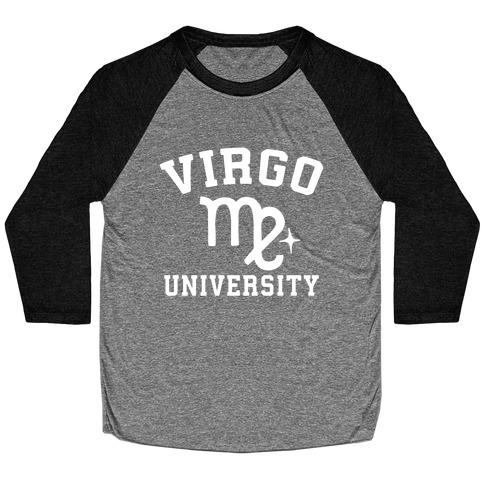 Virgo University Baseball Tee