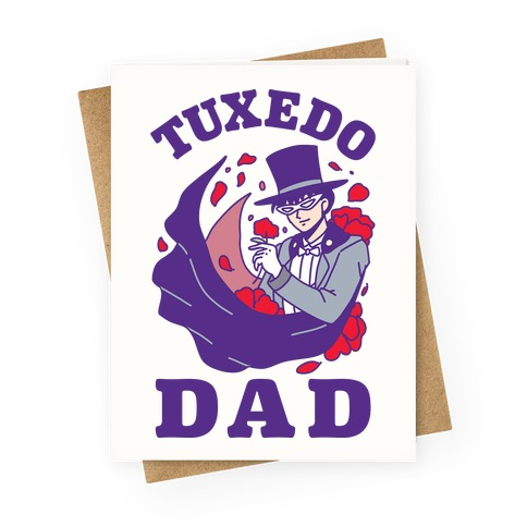 Tuxedo Dad Greeting Card